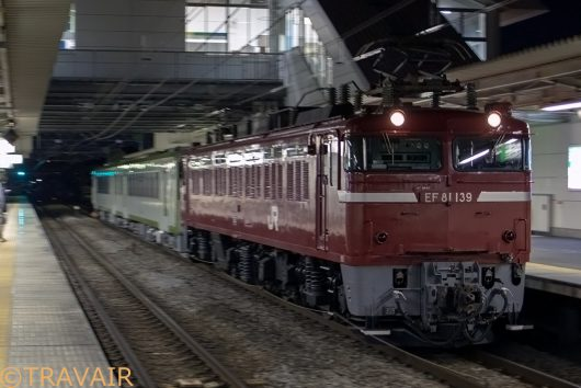 EF81-139 配8676レ 高崎問屋町駅