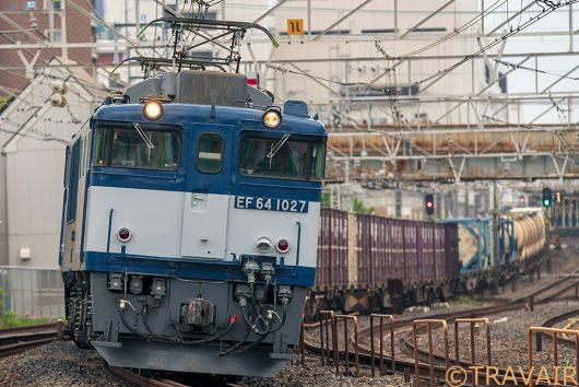 EF64-1027 1094レ 船橋~西船橋間