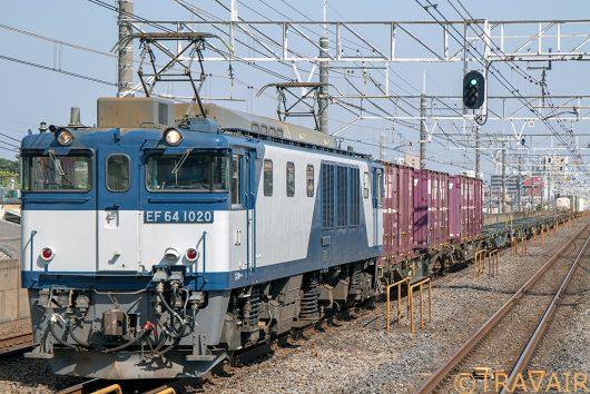 EF64-1020 1094レ 下総中山駅