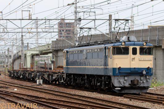 EF65-1104 工9862レ 金町~新小岩(信)