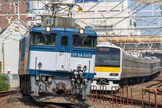 EF64-1015 1094レ 船橋~西船橋間