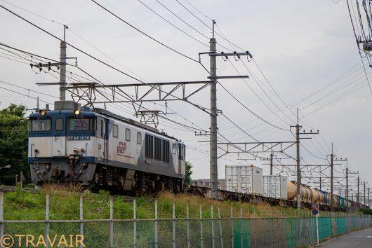 EF64-1036 1094レ 南越谷~東川口間