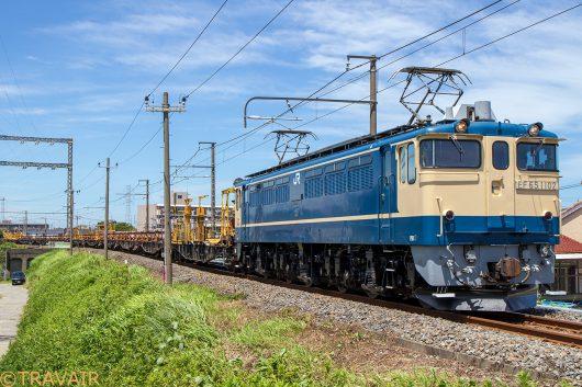 EF65-1102 工9392レ 金町~新小岩(信)