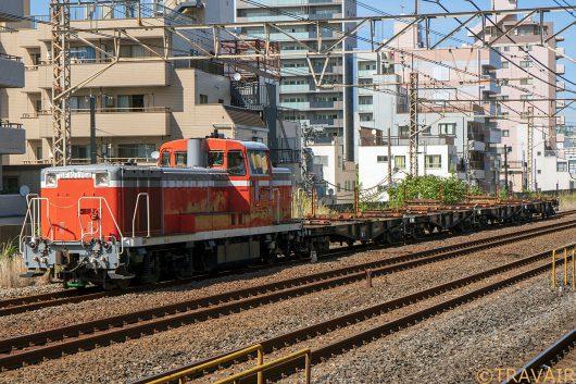 DE10-1704 工7283レ 平井駅
