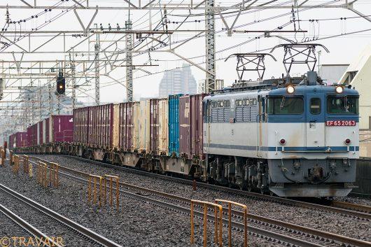 EF65-2063 1091レ 小岩駅