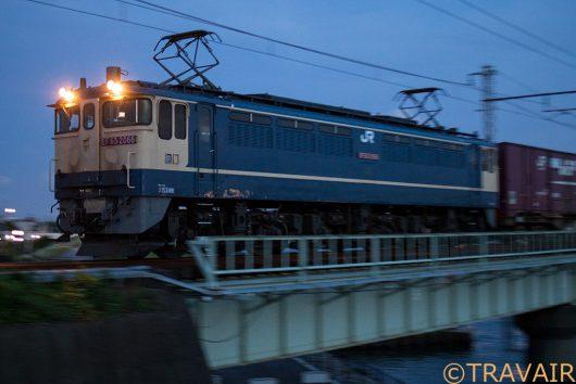 2018.6.26 19:23撮影 1090レ 新小岩(信)~金町間