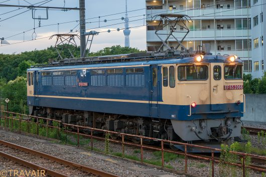 EF65-2066 入換 新小岩駅