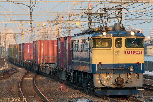 EF65-2065 1090レ 小岩駅