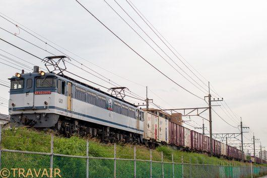 EF65-2075 77レ 東川口~南越谷間