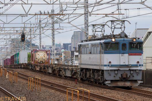 2018.6.16 11:26撮影 1093レ 小岩駅