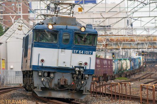 EF64-1017 1094レ 船橋~西船橋間