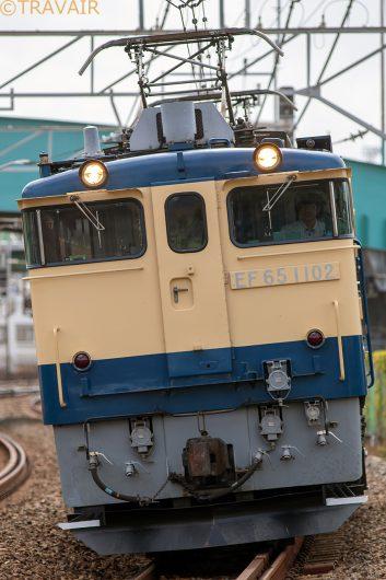 EF65-1102 試単9365レ 西船橋~船橋間
