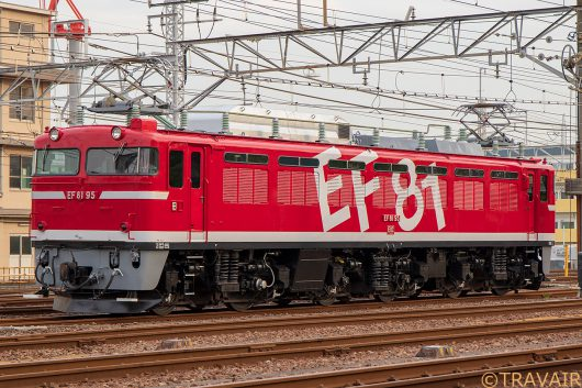 EF81-95入換 新小岩(信)