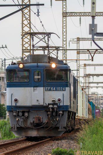 EF64-1024 1094レ 新小岩(信)~金町間