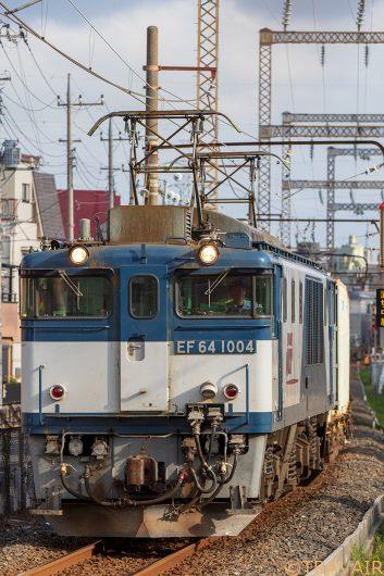 EF64-1004 1094レ 新小岩(信)~金町間