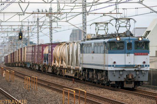 EF65-2090 1093レ 小岩駅