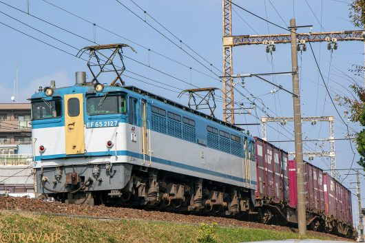 EF65-2117 1091レ 金町~新小岩(信)間