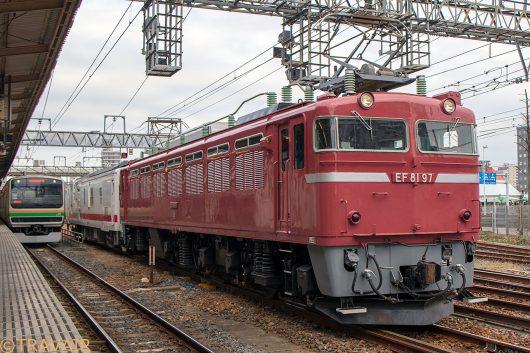 EF81マヤ回 宇都宮駅