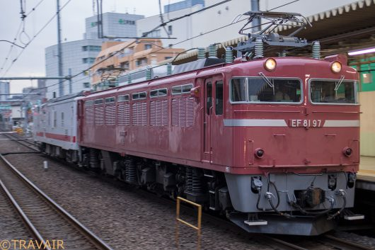 EF8197 回9147レ 北千住駅
