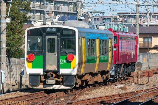 キハE130 配8380レ 西船橋~船橋法典間(後追い)