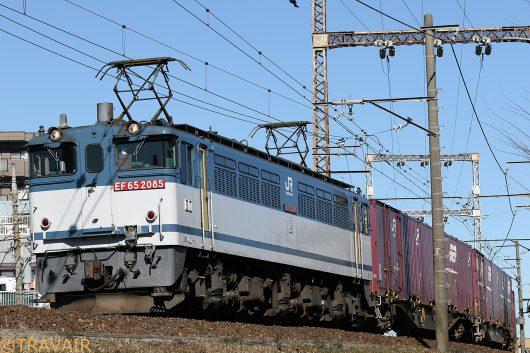 EF65-2085 1091レ 金町~新小岩(信)間