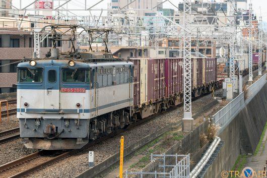EF65-2089 1091レ 船橋~東船橋間