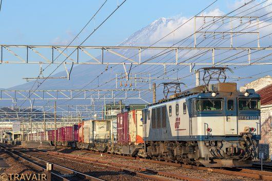 EF64-1010 3075レ 富士川~新蒲原間