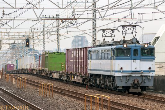 EF65-2095 1091レ 小岩駅