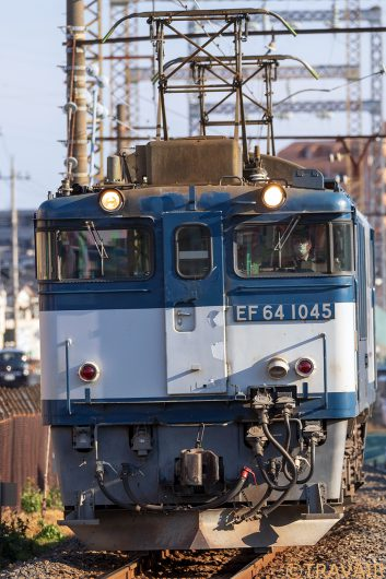 EF64-1045 単1094 新小岩(信)~金町間