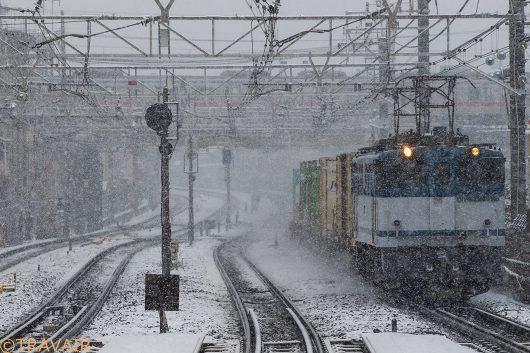 1091レ 船橋駅