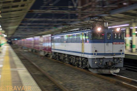 2019.2.20 18:48撮影 1092レ 市川駅