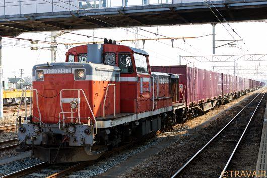 DE10-3510 1657レ 小牛田駅