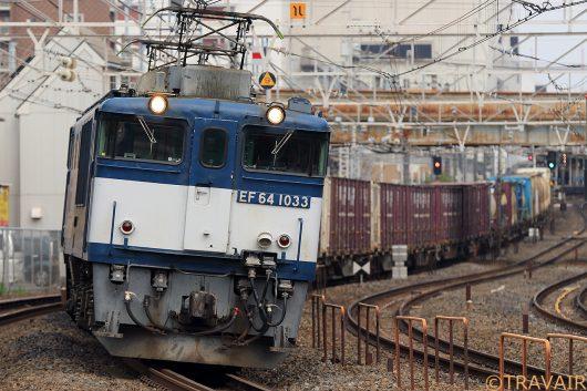 EF64-1033 1094レ 船橋~西船橋間