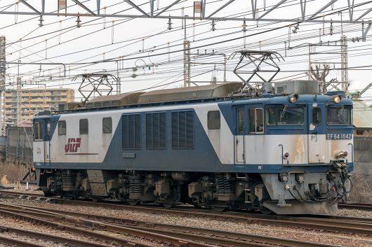 EF64-1042 単 1094 小岩~新小岩(信)間