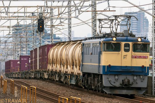 EF65-2070 1093レ 小岩駅