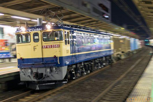 EF65-2081 1090レ 船橋駅