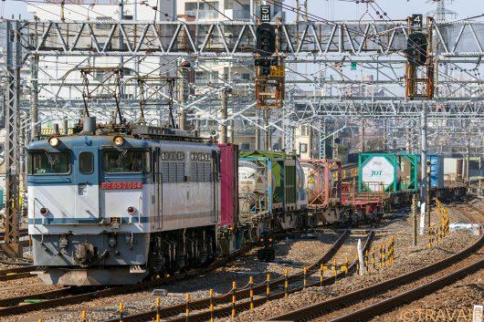 EF65-2084 1091レ 金町駅