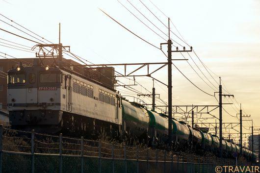 EF65-2085 8876レ 東川口~南越谷間