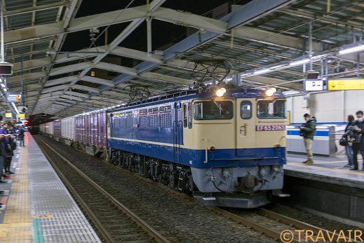 2019.4.11 19:50撮影 76レ 南越谷駅