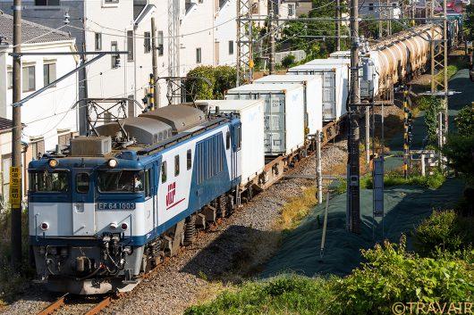 EF64-1003 1094レ 新小岩(信)~金町間
