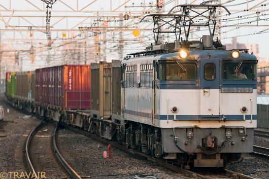EF65-2093 18:25撮影 1090レ 市川駅
