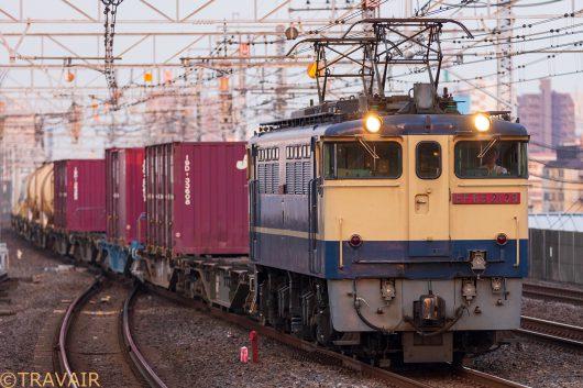 EF65-2139 1092レ 市川駅