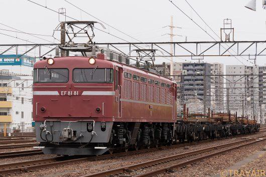 EF81-81 工9482レ 新小岩(信)