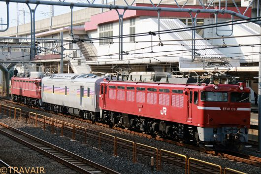 EF81-139 試9582レ 赤羽~尾久