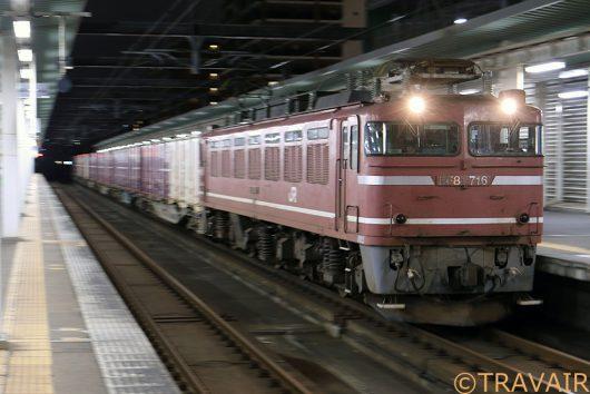 EF81-716 4094レ 吉塚駅