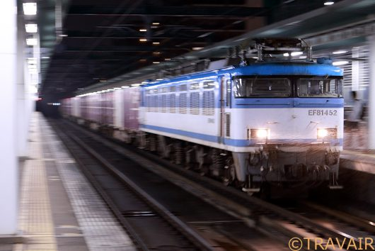 EF81 4521086レ 吉塚駅