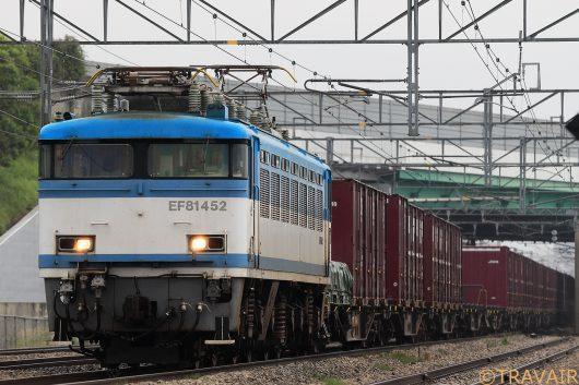EF81-452 8057レ 太宰府(信)