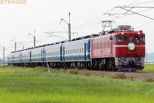 ED75-767 急行津軽82号