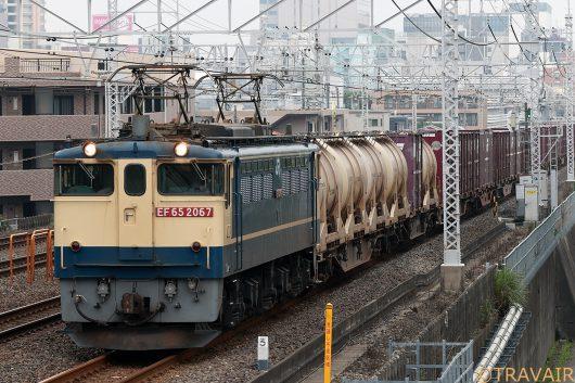 EF65-2067  1093レ 船橋~東船橋間