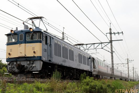 EF64-37 9011レ 南越谷~東川口間